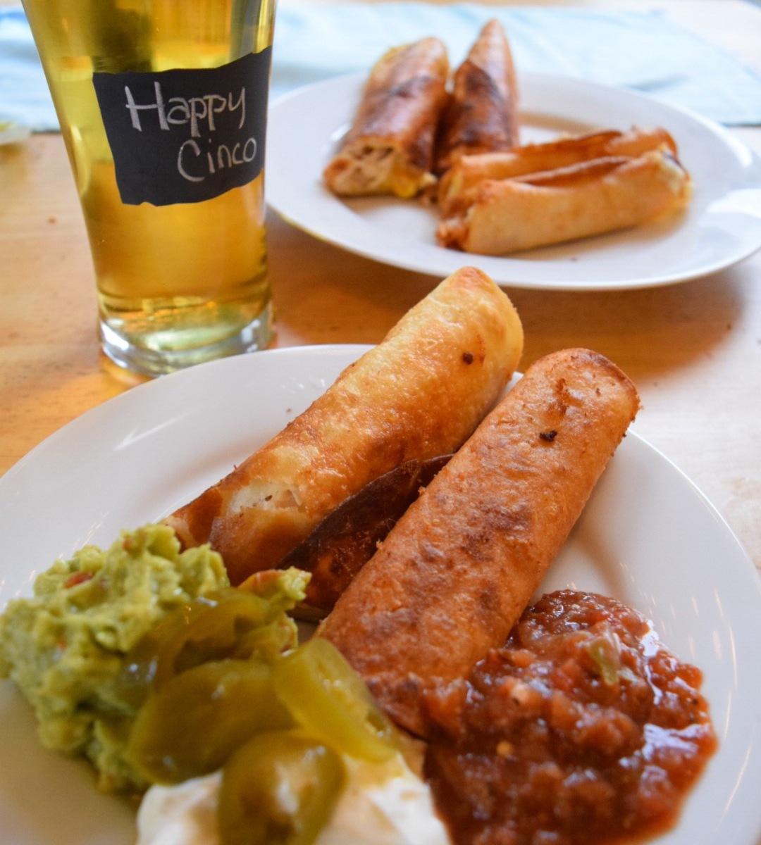 Homemade Taquitos – Quick and Easy for Celebrating Cinco de Mayo ...