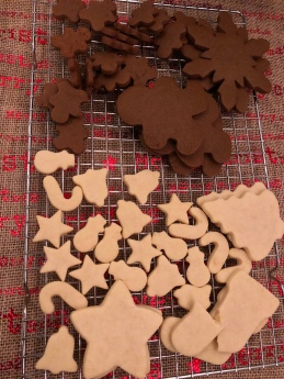 Christmas Gingerbread Cookies Sugar Cookies
