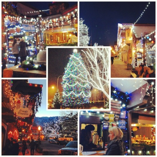 leavenworth christmas photo collection lights