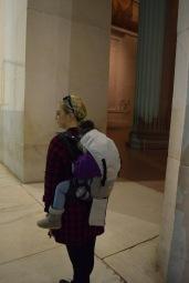 Lincoln Memorial Washington D.C. Toddler