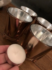 how to re use candleholders