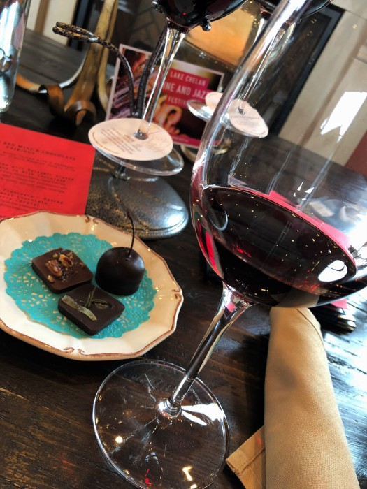 siren song red wine and chocolate flight