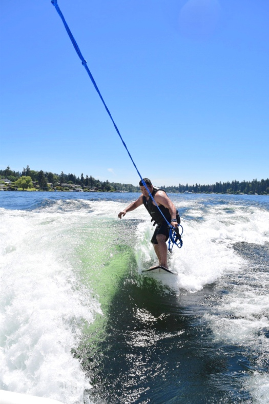 Wakesurf Lake Washington 23