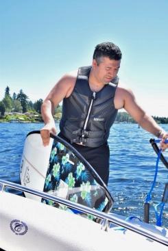 Wakesurf Lake Washington 4