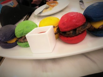 Sugar Factory Bellevue Rainbow Sliders