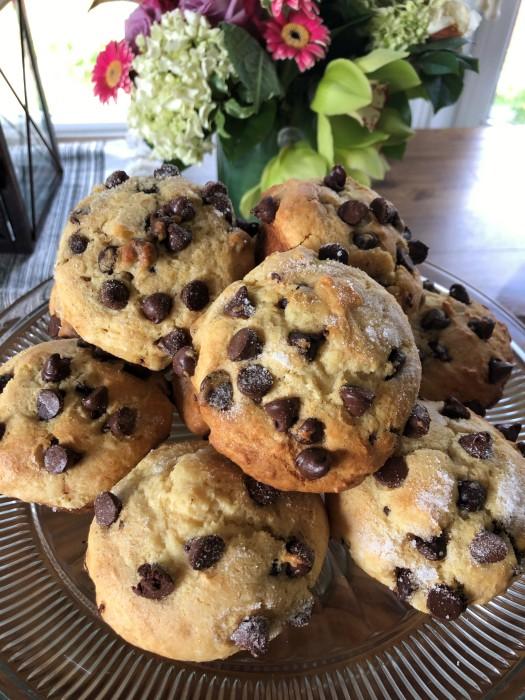 Jumbo Chocolate Chip Muffins 10