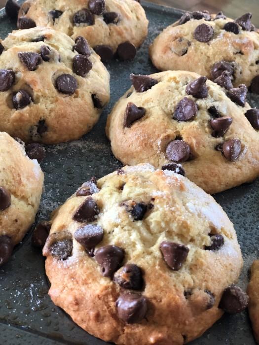 Jumbo Chocolate Chip Muffins 4