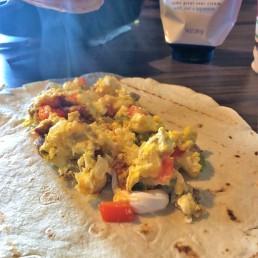 breakfast burritos campsite food 2