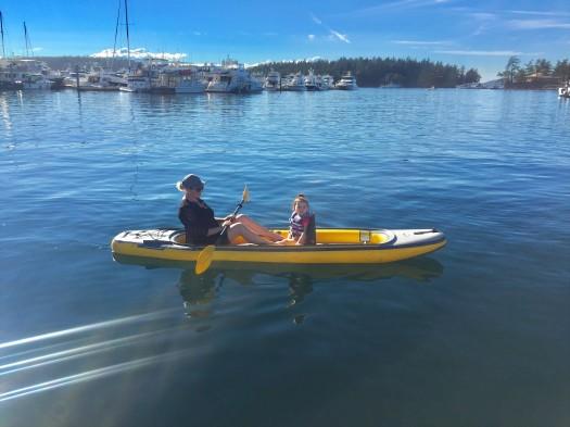 Roche Harbor Paddling