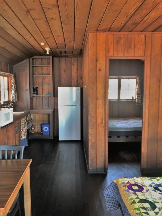 Inside cama beach cabins camano island 3