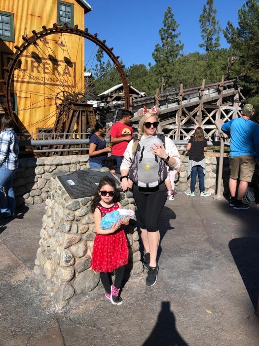 Disneyland California Adventure family picture